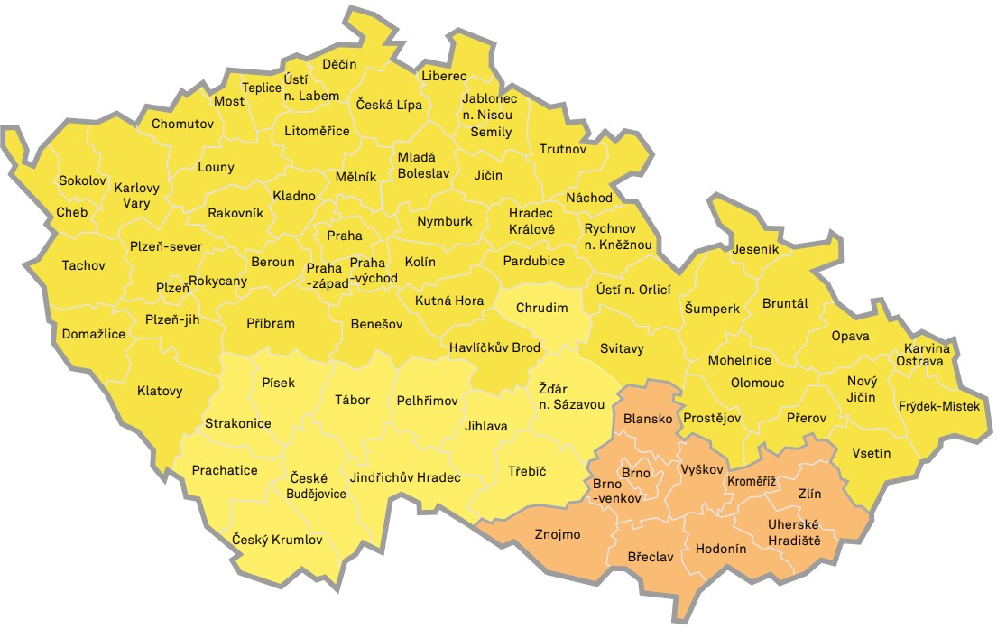 Mapa ZTB
